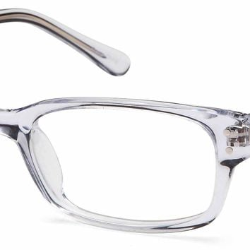 DALIX Unisex Adult Wayfarer Glasses Frames Prescription Eyeglasses 53-19-140