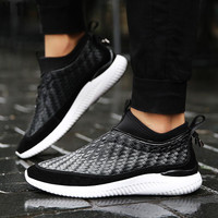 2017 New Fashion Men Casual Shoes Spring Autumn Mens Trainers Breathable Flats Walking Shoes Zapatillas Hombre Male Classic Shoe