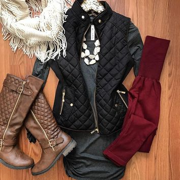 Heart And Soul Grey Tunic