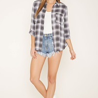Plaid Buttoned Shirt | Forever 21 - 2000170192