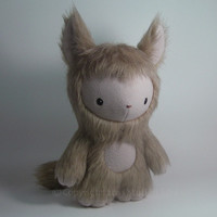 Cute Plush Monster Freya Limited Edition Stuffed by stuffedsilly