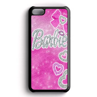 Barbie Glitter iPhone 5C Case
