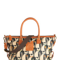Orla Kiely The Fox of Life Bag | Mod Retro Vintage Bags | ModCloth.com