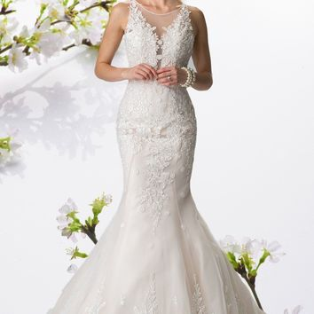 Lace Mermaid Wedding Dress 103-gl2369