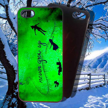 Peter Pan Neverland Case for iphone 4,4s,5,5s,5c, samsung s2,s3,s3 mini,s4,s4 mini,s5,blackberry, htc.