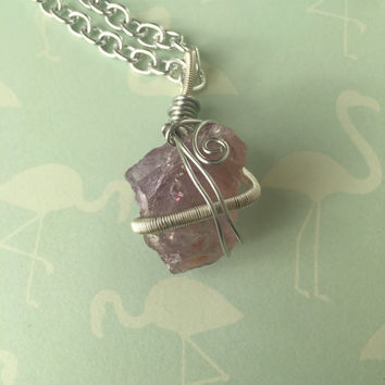 Long Ametrine Necklace