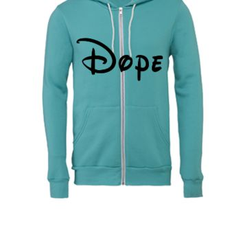 Dope (2) - Unisex Full-Zip Hooded Sweatshirt