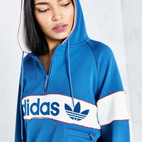 adidas Originals New York 1986 Hoodie Sweatshirt - Blue - Urban Outfitters