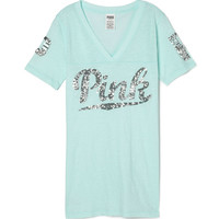 Athletic V-neck Tee - PINK - Victoria's Secret