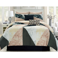 Carver 8-Pc. Queen Comforter Set - Teen Bedding - Bed & Bath - Macy's