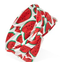 Watermelon Print Headwrap