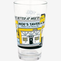 The Simpsons Moe's Tavern Pint Glass