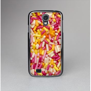 The Orange and Pink Candy Sprinkles Skin-Sert Case for the Samsung Galaxy S4
