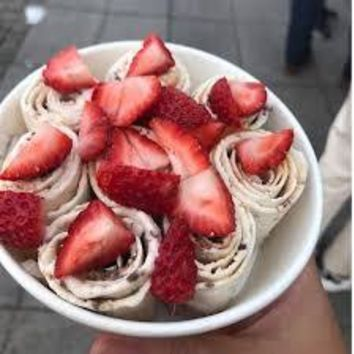 Ice Cream Mix in Strawberry