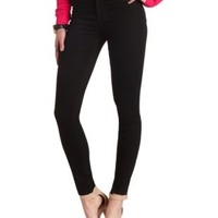 "Refuge High Rise ""Skin Tight"" Denim Leggings - Black Denim"