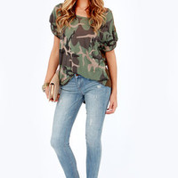 Dittos Selena Distressed Antique Wash Ankle Skinny Jeans