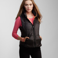 Solid Puffy Vest -