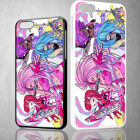 beautiful jem and the holograms X0936 iPhone 4S 5S 5C 6 6Plus, iPod 4 5, LG G2 G3 Nexus 4 5, Sony Z2 Case