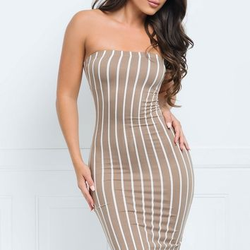 Lynda Strapless Dress