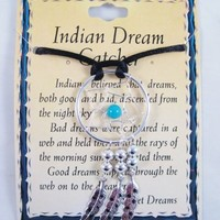 "New 30"" Indian Dream Catcher Necklace"