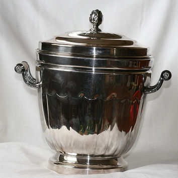 Vintage EPC Silver Plate Ice Bucket