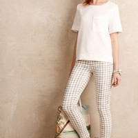 Paige Verdugo Ankle Skinny Jeans Gingham