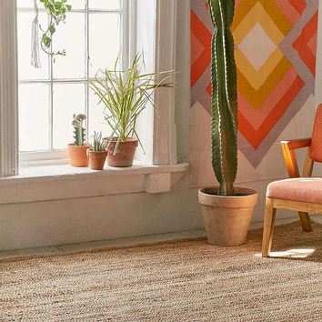 Roni Woven Jute Rug | Urban Outfitters