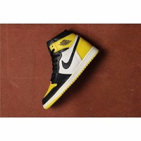 Jordan Retro 1 Yellow Toe #AR1020-700
