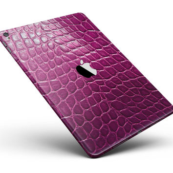 "Bright Magenta Aligator Skin Full Body Skin for the iPad Pro (12.9"" or 9.7"" available)"