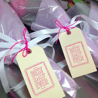 BEST DAY EVER - Set of 6 Favor Tags/Gift Tags