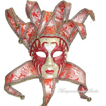 Masquerade Mask - Full Face Venetian Wall Masks