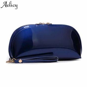 Aelicy Luxury Brand Leather Wallets Women Fashion Long Purses Female Credit Card Holders Money Coin Zipper Pocket Phone Clutch