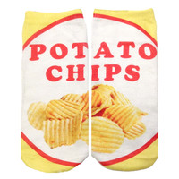 Potato Chips Ankle Socks - BATOKO