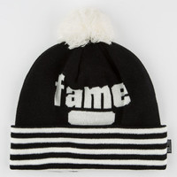 Hall Of Fame Starks Beanie Black One Size For Men 25288210001