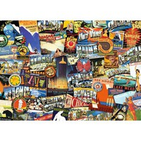 Ravensburger Road Trip USA Jigsaw Puzzle - Puzzle Haven