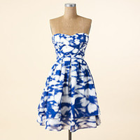 Printed Cotton Party Dress - Short Dresses - DRESSES - Jessica Simpson Collection