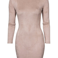 Suede Dress, NLY Trend