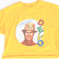 Devo Crop Top Are We Not Men Crop Top Size Medium