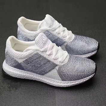 """Adidas"" Women Running Crochet Sport Casual Shoes Sneakers"