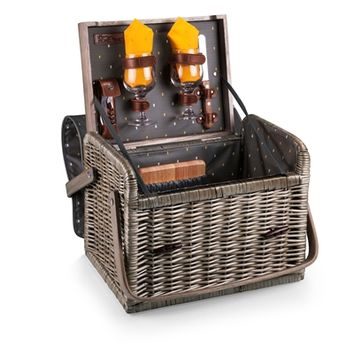 SheilaShrubs.com: Kabrio Wine and Cheese Basket 325-72-322-000-0 by Picnic Time: Wine Baskets & Totes