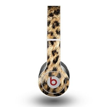 The Real Cheetah Animal Print Skin for the Beats by Dre Original Solo-Solo HD Headphones
