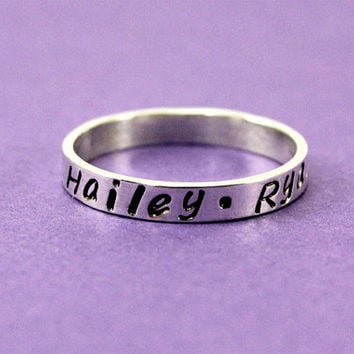 shop personalized mothers rings on wanelo. Black Bedroom Furniture Sets. Home Design Ideas