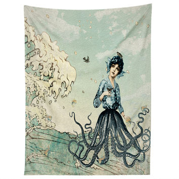 Belle13 Sea Fairy Tapestry