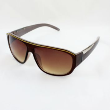 Brown 90's Style Inspired Sunglasses