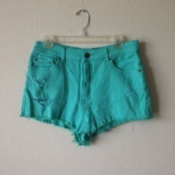 High-Waisted Cheeky Shorts (Urban Outfitters)