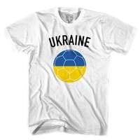 Ukraine Soccer Ball T-shirt