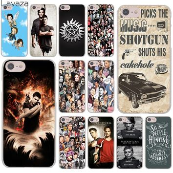 Lavaza Supernatural Jensen Ackles Dean Winchest Cover Case for iPhone X XS Max XR 6 6S 7 8 Plus 5 5S SE 5C 4S 10 Phone Cases