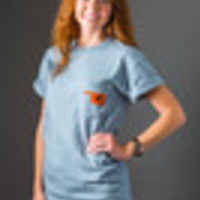 Oklahoma State on Grey Comfort Colors-Short Sleeve