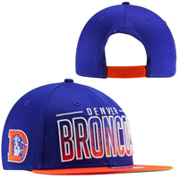 New Era Denver Broncos 9FIFTY Fade Snapback Hat - Royal Blue