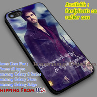 Once Upon a Time Captain Hook Quote iPhone 6s 6 6s+ 5c 5s Cases Samsung Galaxy s5 s6 Edge+ NOTE 5 4 3 #movie #disney #animated #onceuponatime dl7